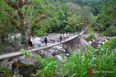 ponte em cima da cachoeira - Pesquisa Google