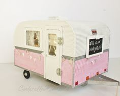 Life is an Adventure Trailer Dollhouse by cinderellamoments