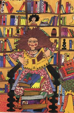 Book Woman by Kiki... www.OneMorePress.com