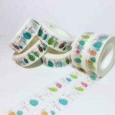 Tropical Flamingos and Pineapples, Washi Tape, Full Rolls and Samples by DaisyGreyPretties on Etsy https://www.etsy.com/listing/506667220/tropical-flamingos-and-pineapples-washi