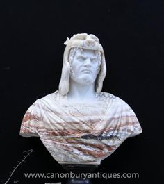 Photo of XL Italian Marble Bust Norse Warrior Carved Game Thrones Sculpture Warriors Standing, Game Thrones, Marble Bust, Italian Marble, Hand Carved, Carving, The Incredibles, Sculpture, Statue