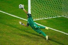 El penal de Grecia que nos pasó a cuartos de final brasil 2014