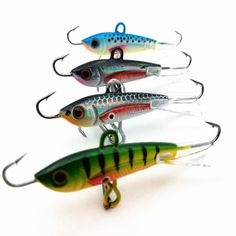Find More Fishing Lures Information about 4pcs 60mm 10g New Fishing Lure winter Ice Fishing Hard Bait Minnow Tackle Artificial Bait Crankbait Swimbait,High Quality lures minnow,China lure rod Suppliers, Cheap lure plastic from fishers zone on Aliexpress.com
