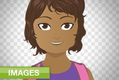 Cutout People Images: Cartoon Kids | eLearning Template Library | Tons of templates to create awesome courses! #CutoutPeople