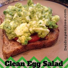 Deidra Penrose, clean egg salad, healthy egg salad, easy healthy lunch recipes, 21 day fix recipe, 21 day fix meal plan, team beach body, 7 star elite team beach body coach,  avocados, egg whites, health and fitness coach, clean eating, nutrition, weight loss recipes
