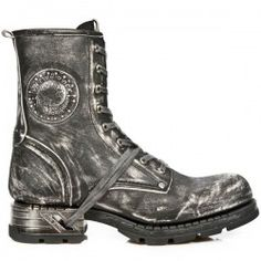 Botte en cuir M.MR001-C4 New Rock