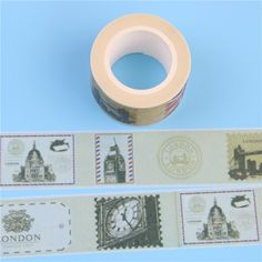 1 Pc / Pack New New Stamp Design 2.5cm*10m Paper Sticky Adhesive Sticker Decorative Washi Tape-in Office Adhesive Tape from Office & School Supplies on Aliexpress.com | Alibaba Group
