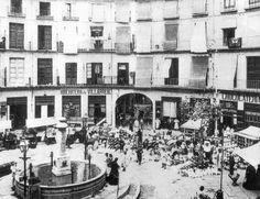 Plaza Redonda en 1900