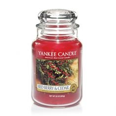 Red Berry  Cedar : Large Jar Candle : Yankee Candle #YankeeCandle #MyRelaxingRituals