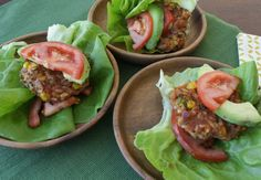 Try this new twist on veggie burgers; the refried beans make the burgers incredibly easy to make!