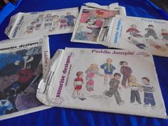 Sewing Patterns TODDLERS SUNRISE DESIGNS Choose by AngieFoundit4U