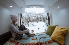 How to stay warm while living in a van