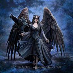 59 Ideas for gothic wallpaper dark fantasy anne stokes Fantasy Art Angels, Gothic Fantasy Art, Fantasy Art Women, Fantasy Kunst, Fantasy Artwork, Anne Stokes, Gothic Fairy Tattoo, Gothic Pictures, Gothic Wallpaper