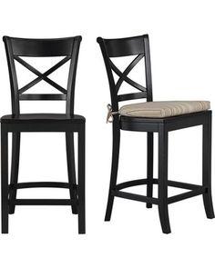 Barstools Distressed Teal W Black Cushion Crayton Barrel Kitchen Stools Counter