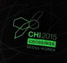 #CHI2015 tshirts glow!