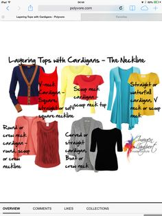 I always recommend wearing layers to add visual interest and texture, and to have easy ways to change up your look during a single photo session! Layering Tops – The All Important Neckline - matching cardigan and top necklines How To Wear Cardigan, Gray Cardigan, Cashmere Cardigan, Open Cardigan, Knit Cardigan, Inside Out Style, Layered Tops, Facon, Mode Inspiration