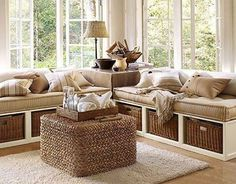 This would be perfect for one corner of the sunroom.
