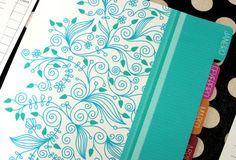 Uma das suas principais metas para 2016 é ser mais organizado? Escolha um lindo planner para te ajudar! Planner 2018, Agenda Planner, Home Planner, Weekly Planner, Planner Stickers, Printable Planner, Printables, Planner Bullet Journal, Journaling