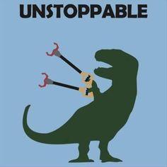 OT - unstoppable OTrex hahahaha made me laugh so hard.