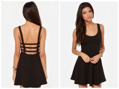 New Women Girl Strappy Short Casual Dress Sexy by FashionPantry, ฿600.00