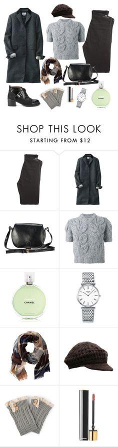 """""""Warrior of love"""" by nicolesynth ❤ liked on Polyvore featuring Citizens of Humanity, Uniqlo, Maison Margiela, Chanel, Longines, TravelSmith, NOVICA, Journee Collection and Jeffrey Campbell"""