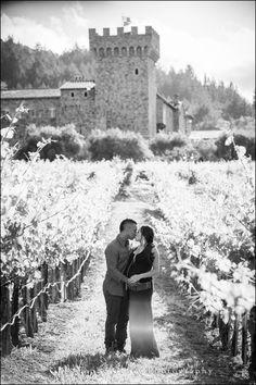 Engagement Photography at Castello di Amarosa in the Napa Valley | Christophe Genty Photography #castellodiamarosa #napavalley