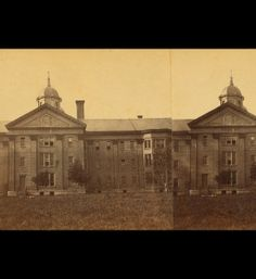 Taunton State Hospital, built in 1851, was home to several notorious patients including Lizzie Borden.