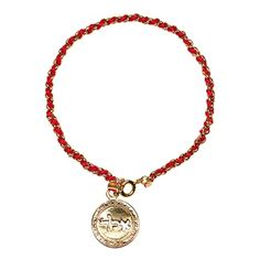Kabbalah Gold Coin Red String Bracelet for Protection.  This stylish 18K Gold Plated 925 Sterling Silver Kabbalah Coin Bracelet has the Kabbalah Red String interwoven and Kabbalah Coin Amulet of your choice from the 72 Sacred names of God. Each Sacred name of God has a different meaning, read below to choose the one you need the most.