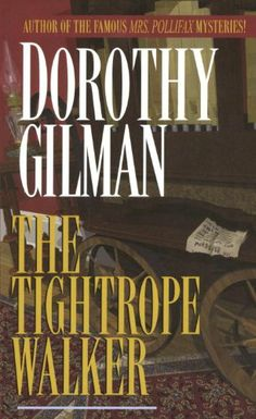 The Tightrope Walker by Dorothy Gilman.....one of her early stand alone books, excellent ,http://www.amazon.com/dp/0449211770/ref=cm_sw_r_pi_dp_9Y5ltb0DXN3QSRC4