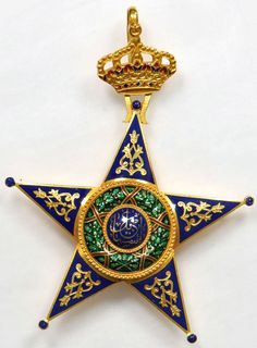 Neck Badge of a Grand Officer of the Order of Ismail.