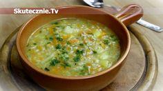 Jak zrobić pyszny krupnik Baby Food Recipes, Soup Recipes, Dessert Recipes, Polish Soup, Polish Recipes, Healthy Soup, Soups And Stews, Veggies, Appetizers