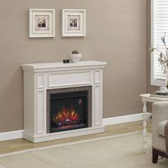white fireplaces - Google Search