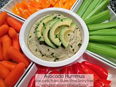 Hummus has been one of my favorite foods since the first time I tasted it. I could easily take down a whole dish of it single-handedly. My days of eating garbanzo beans in abundance are long over. Therefore, I created this healthier low-carb, paleo version so that when I eat a whole dish of it, I won't feel nearly as guilty. This is a great dip to accompany a vegetable platter. My husband also likes to use it as a dressing on his salads.