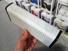 Nixon's Forthcoming Modernist-Yet-Rugged Bluetooth Speaker and Earbud Cable Wrap
