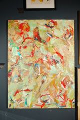 Contemporary Art on Stretched canvas by David Leher thumbnail 2