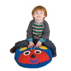 Woodland Friends Small Cushion Bug Small Cushions, Floor Cushions, Nottingham, Learning Activities, Bugs, Woodland, Kids Rugs, Range, Friends