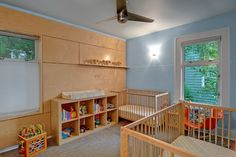 Birtch plywood. Project One - contemporary - kids - Imprint Architecture and Design, LLC