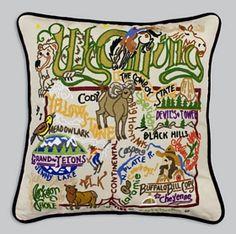 Wyoming State Pillow