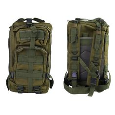 30L Military Tactical Backpack MOLLE Rucksack