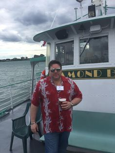 Our Mayor (Jason Hartless) enjoying a night on the River with the BOMA Members! #PrudentialSecurity #BOMA #Detroit #DetroitRiver