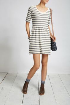 The Alderwick Dress | Jack Wills Use Lady Skater and change skirt for gathered one.