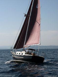 pacific seacraft dana 24 - Twenty Small Sailboats to Take You Anywhere (Paperback) by John Vigor