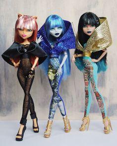 Sudaderas de muñecas Monster en oro por AralGhostier en Etsy