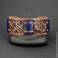 Love this! The copper and the blue, just awesome!