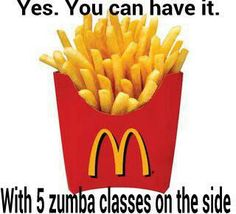 Perspective. Zumba, fries, choices. : { Best Fast Food Fries, Frites Mcdonalds, Mcdonald French Fries, Shortbread Cake, Mcdonalds Gift Card, Pecan Nuts, Mets, Quick Easy Meals, Food And Drink
