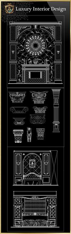 Luxus-Innenarchitektur CAD-Blöcke | FREE CAD BLOCKS & ZEICHNUNGEN DOWNLOAD CENTER