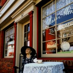 A wonderful little tea shop in Culpepper Virginia