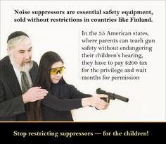 Suppressors, Gun Rights, Guns, Oleg Volk