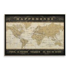 World maps framed art at allposters 17 2 heather stuff by world maps framed art at allposters 17 2 heather stuff by marnie shawmarniehotmail pinterest map frame and fashion gumiabroncs Image collections
