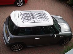 MINI Cooper roofs | We have done some Sunroof decals using the vision type of vinyl and ...